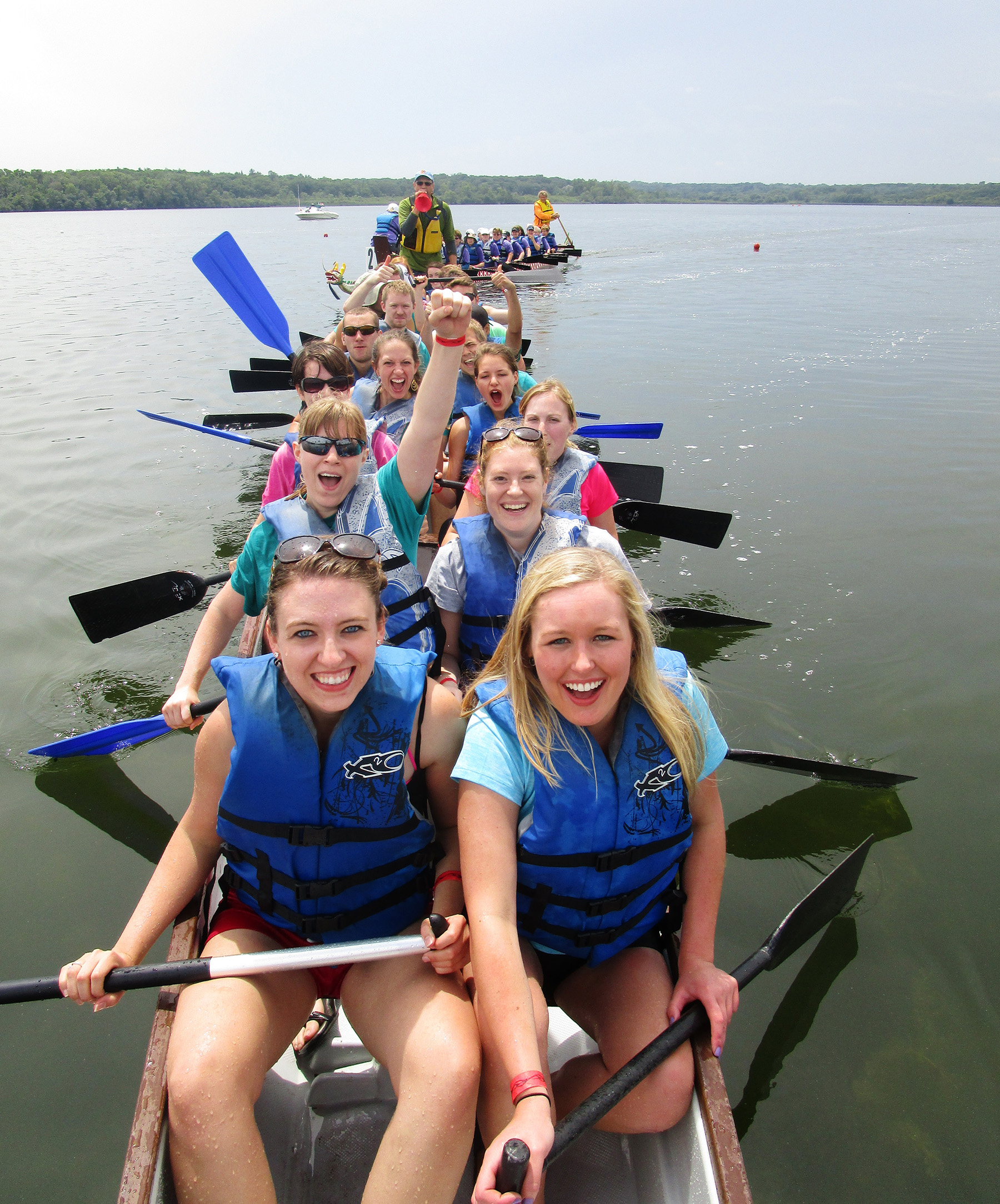 Dragon Boat Races SCCP Team!